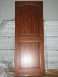Solid Wood Interior Doors | Panel Finger-Joint Solid Wood ...