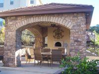 Covered Outdoor Kitchens | Outdoor Kitchen - Forno Bravo ...