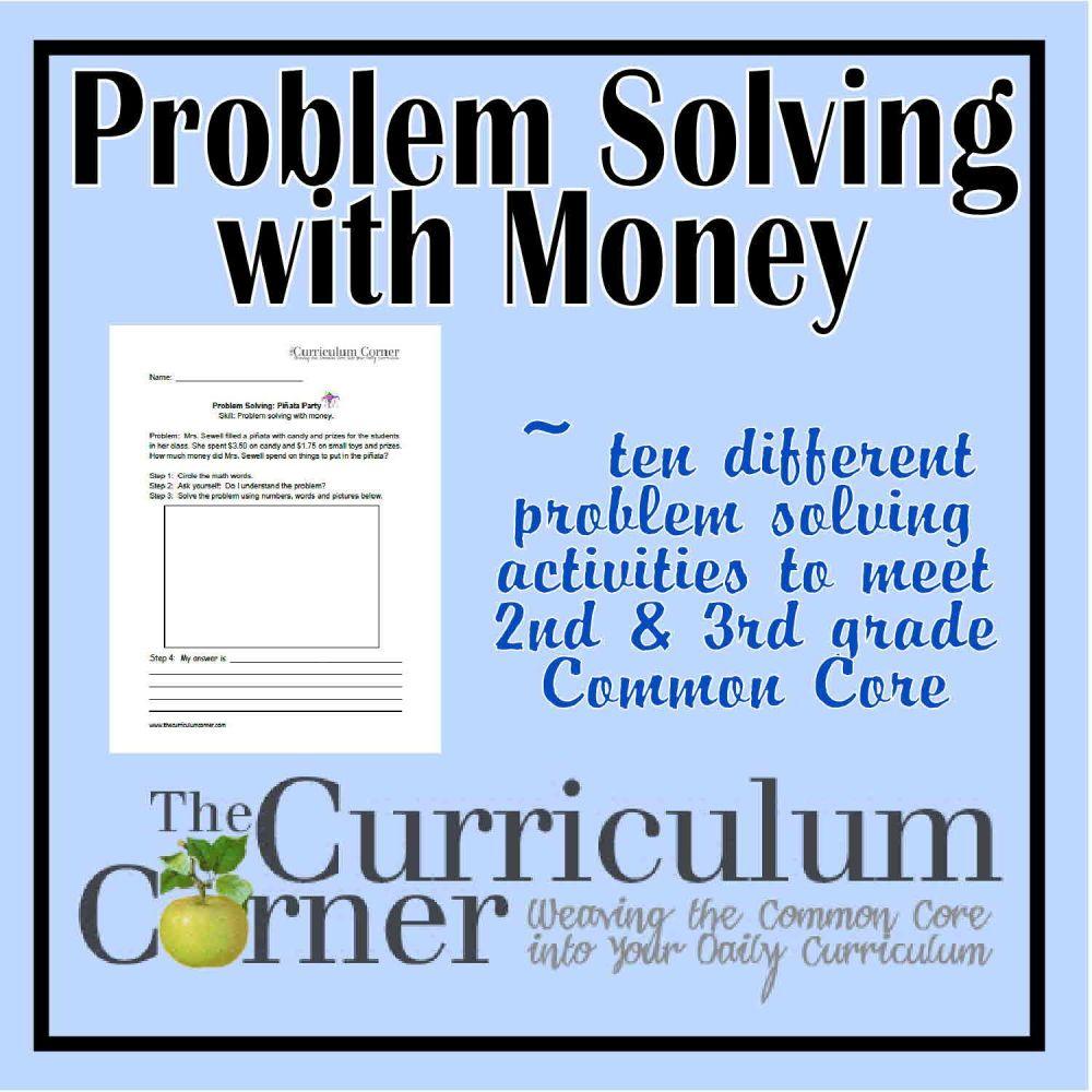 medium resolution of Money problem solving questions grade 3