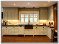 Painted Craftsman Style Kitchen Cabinets | House ...