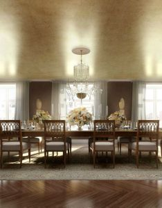 Dining room why round table is best for all designs grande golden space design idea with suitable laminate ceiling plus classy also extravagant trends this month feel the wilderness rh pinterest