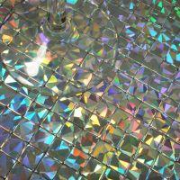 Mosaics tile iridescent aluminum plate mirror adhesive ...