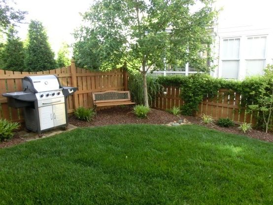 Simple Small Yard Landscaping Without The Grill Yard Ideas