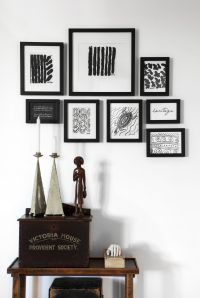One wall, one set of frames, multiple looks. #frames # ...
