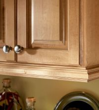 Under cabinet molding