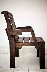 Chairs made from pallets!! simple & rustic!!! | Furniture ...