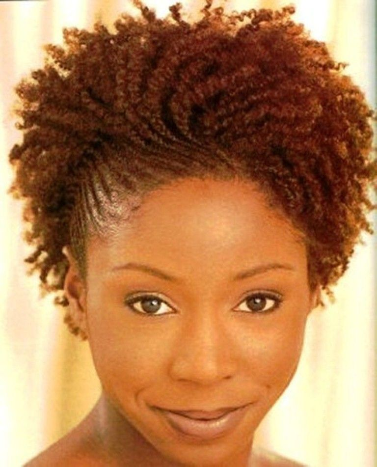 Short Braided Hairstyles For Black Women Naturally Spiralled