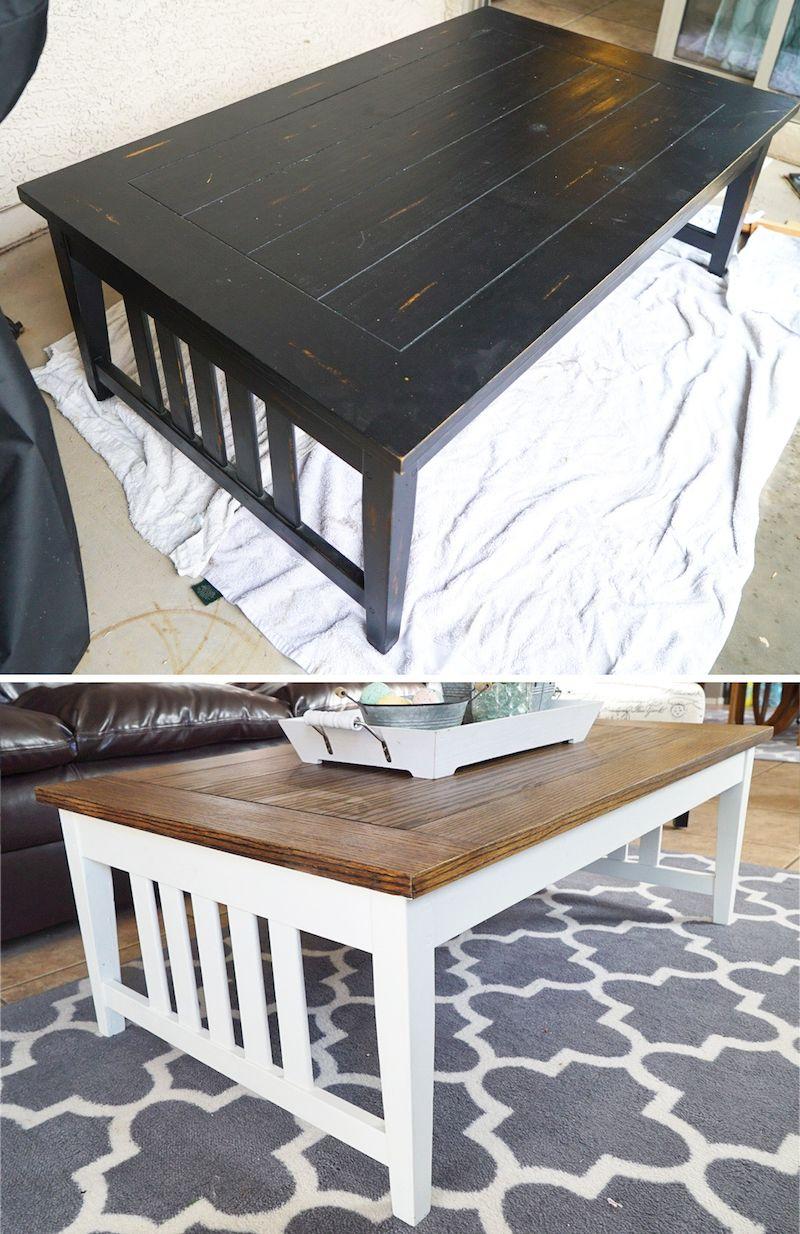diy refinish kitchen cabinets island work station best 25+ painting wood furniture white ideas on pinterest ...