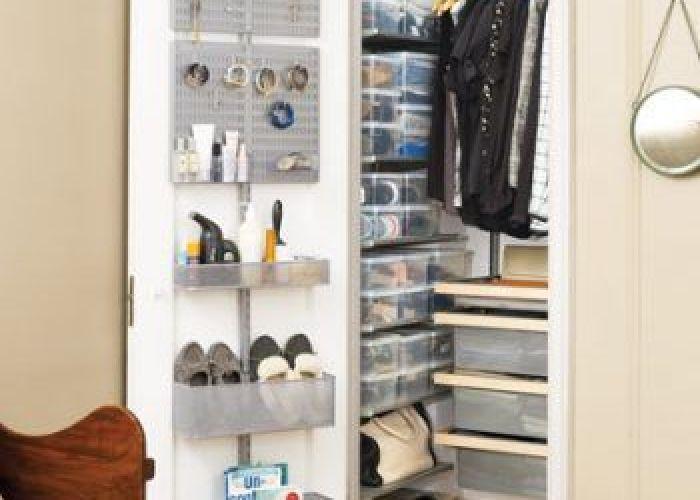 unique ways to organize small closets also organized