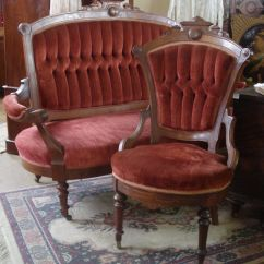 Eastlake Victorian Parlor Chairs High Heel Shoe Chair Value City Details About Antique 1870s Walnut Burl