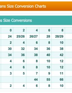 Women jean size chart conversion dolap magnetband co also converter insaatpgroup rh