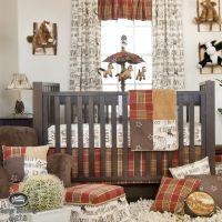 Baby Boy Cowboy Horse Pony Western Quilt Babies Crib ...
