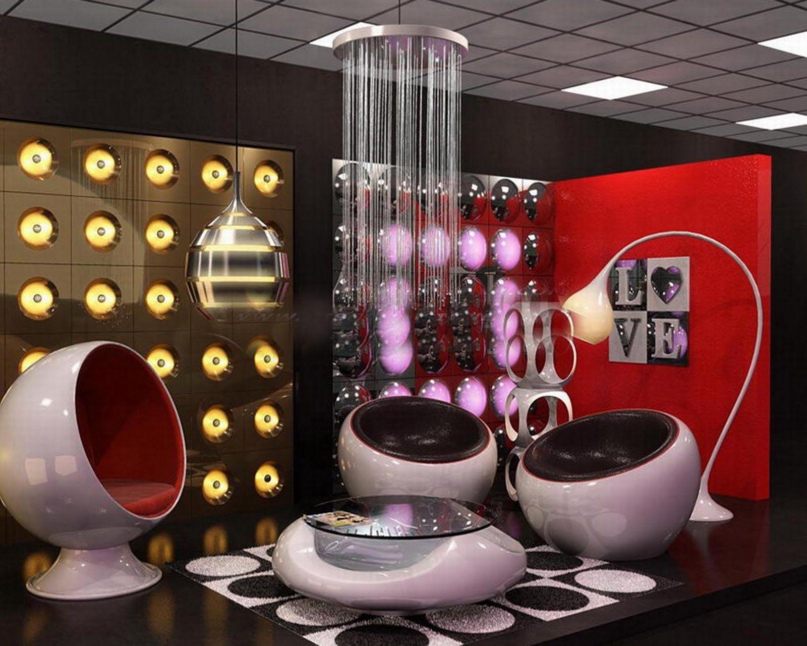 mushroom bean bag chair seat cushions for office chairs target retro futuristic interior alien pinterest