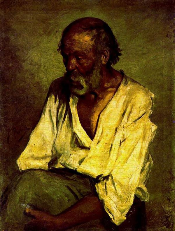 Pablo Picasso - Fisherman 1895