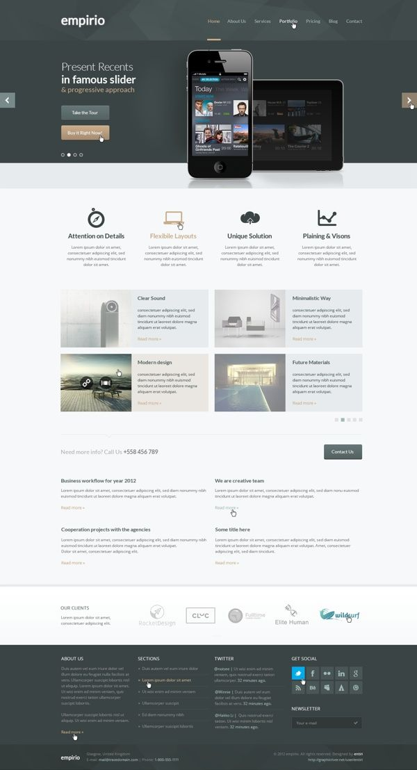 Find this pin and more on web design also awesome website  ui app pinterest see rh