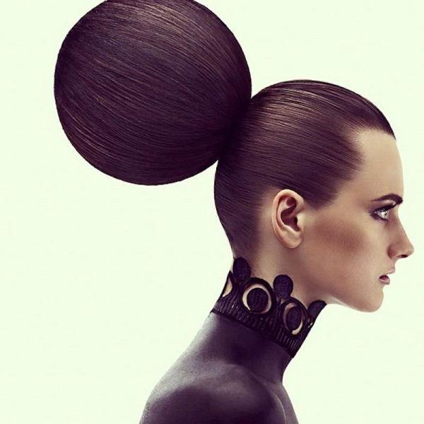 Editorial- Geometric #hair Design Editorial Avant Garde And Hair Art