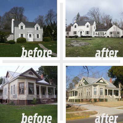 Best Whole House Before And Afters 2011 Home Old Houses And On