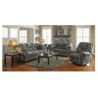 Woodhaven 7pc Cheyenne Living Room Collection ...