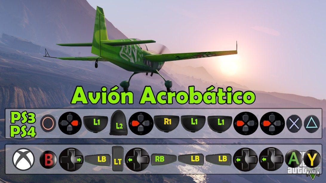 Truco Para Obtener El Avin Acrobatico Trucos De GTA 5