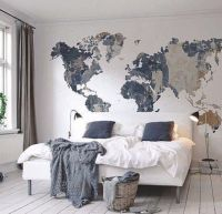 cool map mural See various wall mural designs at http ...