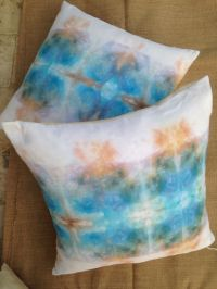 "Ice Dyeing Cotton Pillow Covers 20""x 20"""
