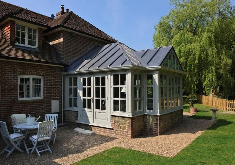 Edwardian Gable End Wooden Conservatory Conservatory Ideas