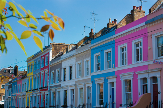 Exterior Inspiration Colorful Row Houses Around The World