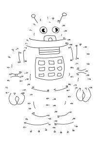 Dot To Dots Worksheets For Kindergarten | Activity Shelter ...