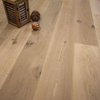 """Wide Plank 7 1/2"""" x 5/8"""" European French Oak Unfinished ..."""