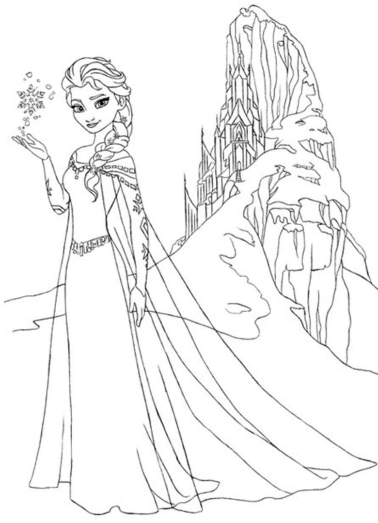 download and print frozen coloring page | kifestők / coloring
