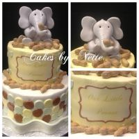 """""""My Little Peanut"""" Baby Shower Cake, Cakes By Nette 