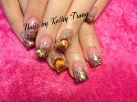 Thanksgiving Fall Turkey Nails 2013 | Nail designs for ...