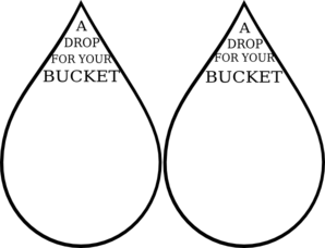 A Drop For Your Bucket.... Great template to go along with