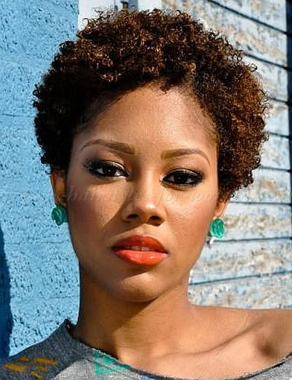Natural Very Short Curly Hairstyles 2014 For Black Women Natural
