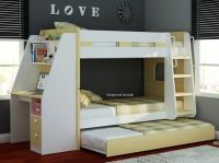 Olympic Bunk Bed With Desk And Trundle | bunkbed shortlist ...