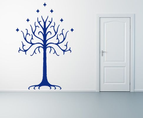 tree of gondor wall decal. would be cute for a lotr themed