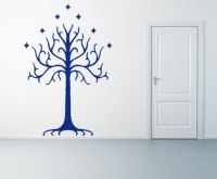 tree of gondor wall decal. would be cute for a lotr themed ...