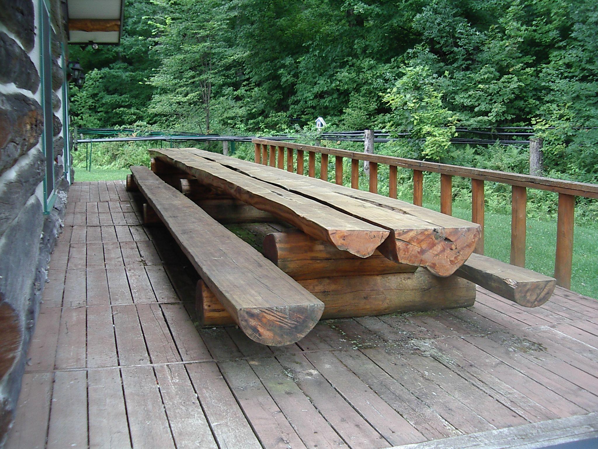 Long Picnic Table Plans
