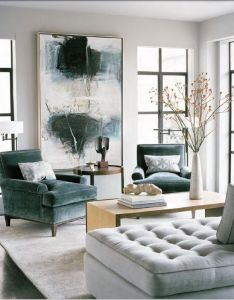 super sized statements made by oversized art in exquisite interiors also rh pinterest