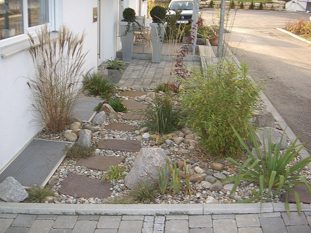 vorgarten selbst anlegen - terrasseenbois, Garten und bauen