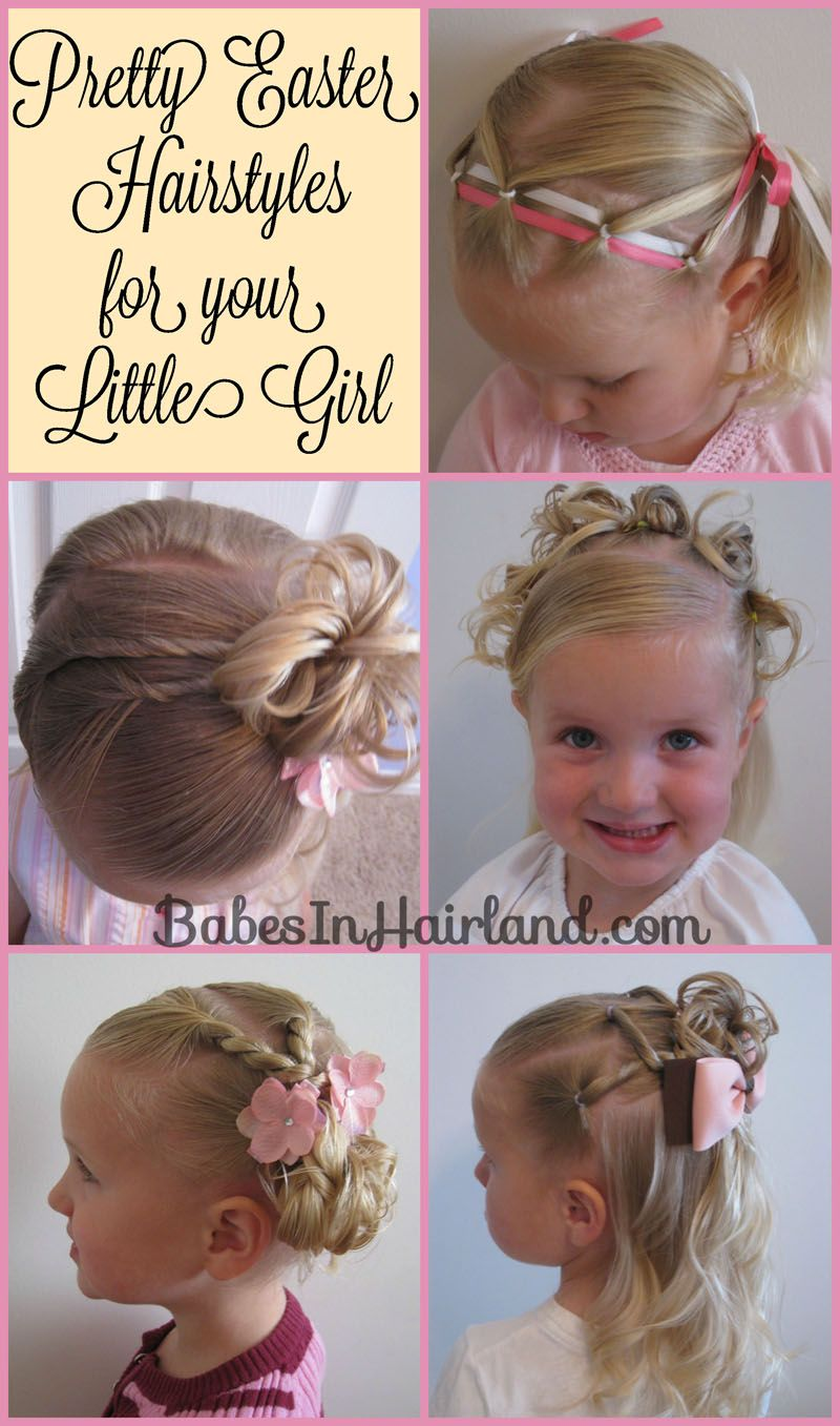 Easter Hairstyles From BabesInHairland Com #hairstyles #tutorials