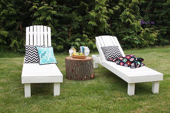 Chaise Lounge Outdoor on Pinterest  Rustic Mexican