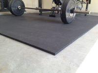 rubber gym mats for my garage gym flooring