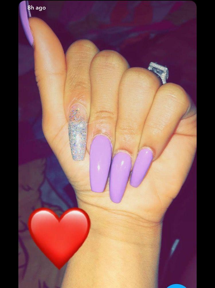 Cute Summer Acrylic Nails Long
