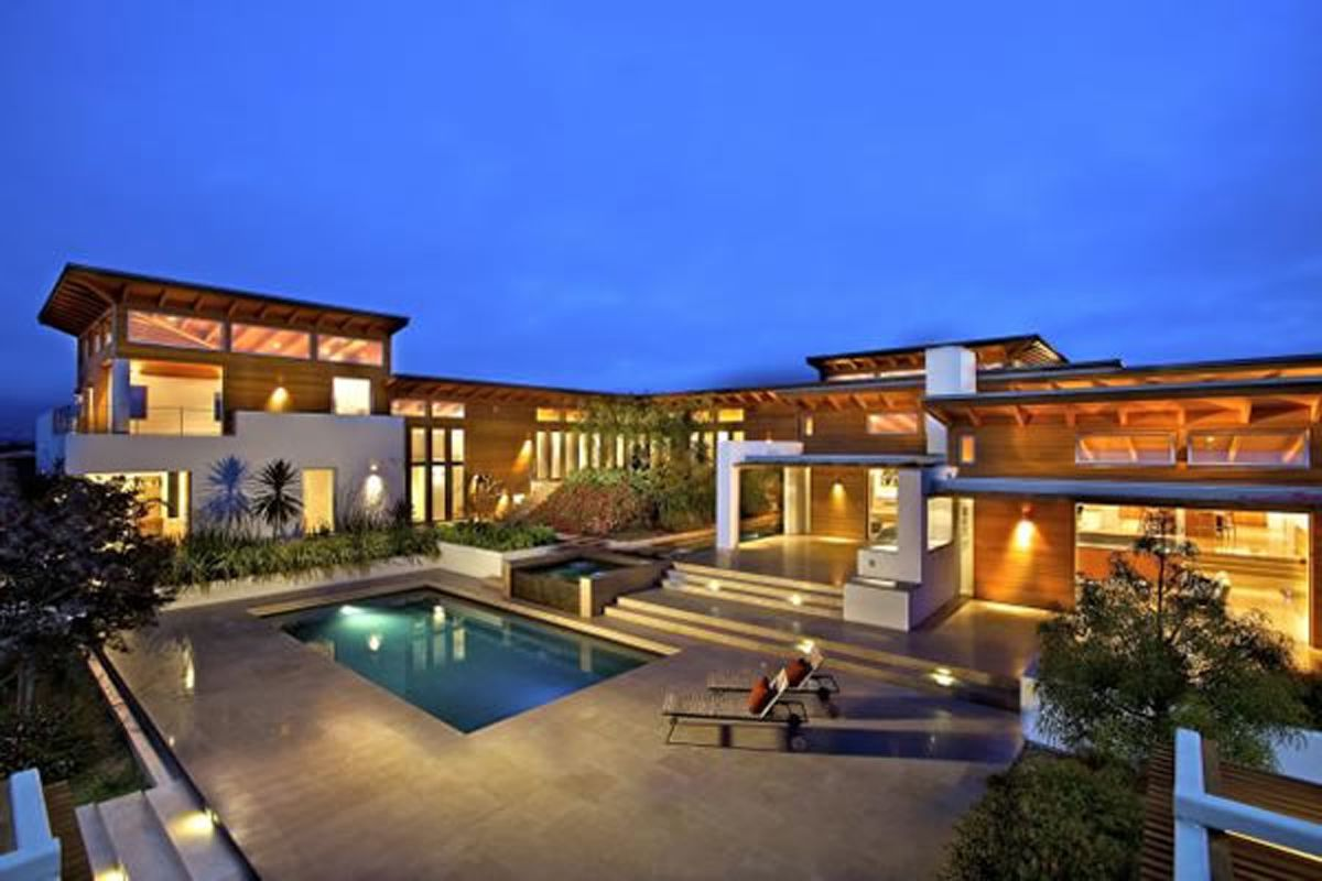 Modern Home Designs Modern Top Hill House Designs With