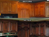kitchen cabinet refacing before and after | for the home ...