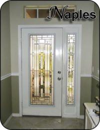 Modern Glass Door Inserts for fiberglass prehung exterior