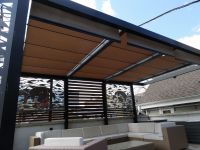 Roof Screens & Roof Deck Pergola Retractable Shades ...