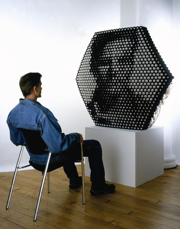Mirror Ball Sculpture