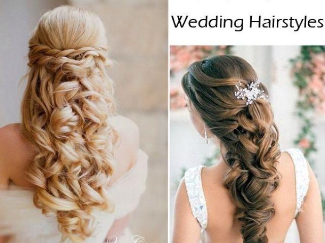 elegant wedding hairstyles: half up half down | weddings, blog and